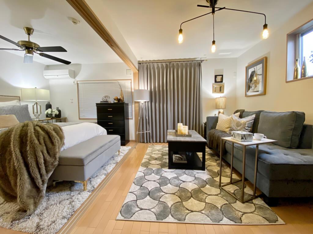 【スタッフの自宅を大公開!】1LDKのマンションの一室をアシュレイの家具でトータルコーディネート